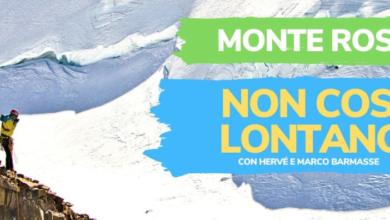"""Photo of Barmasse sul Monte Rosa col papà, il film """"Non così lontano"""" è online"""