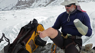Photo of Zsolt Erőss, primo ungherese su Everest e 2 Ottomila con una sola gamba
