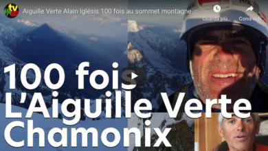 Photo of Alain Iglésis 100 volte sull'Aiguille Verte del Monte Bianco