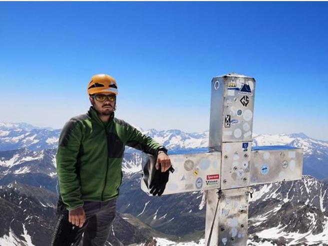 daniele catorci alpinista crepaccio gran paradiso