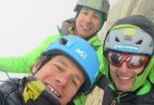 Photo of Pilastro Rosso del Brouillard, nuova via del trio delle meraviglie