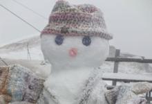 Photo of Tormenta di neve sulla Marmolada, benvenuta estate da Punta Penia
