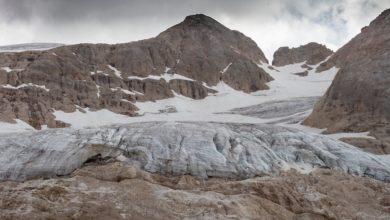 ghiacciaio marmolada