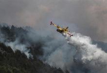Photo of Incendi dolosi nel Parco del Gran Sasso. Fiamme alle porte di L'Aquila