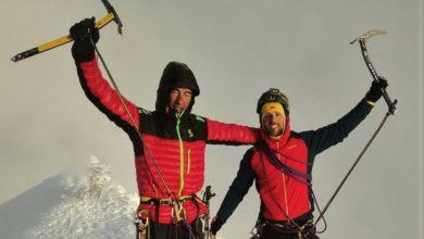Photo of Andrea Lanfri e Massimo Coda (entrambi amputati) da soli sul Monte Bianco