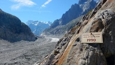 Photo of Mer de Glace, video di una morte annunciata