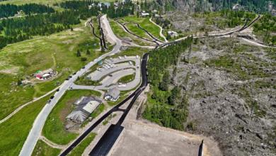 Photo of Asfalto sulle Dolomiti, una pista skiroll a Passo Lavazè