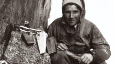 Photo of Sul Petit Dru dopo 6 giorni in solitaria, Walter Bonatti diventa grande