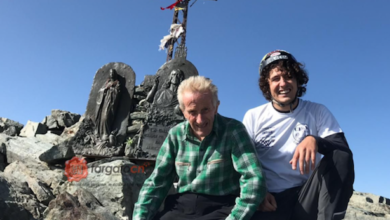 Photo of Clemente Berardo a 83 anni per la 407^ volta in vetta al Monviso