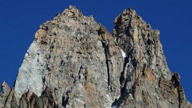 Photo of Monte Bianco, nuova frana sul Dru coinvolge la via normale