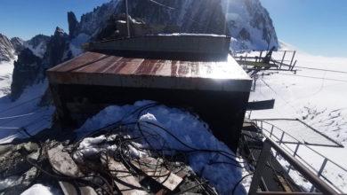 Photo of Monte Bianco ripulito da 8 tonnellate di ferraglia e rottami