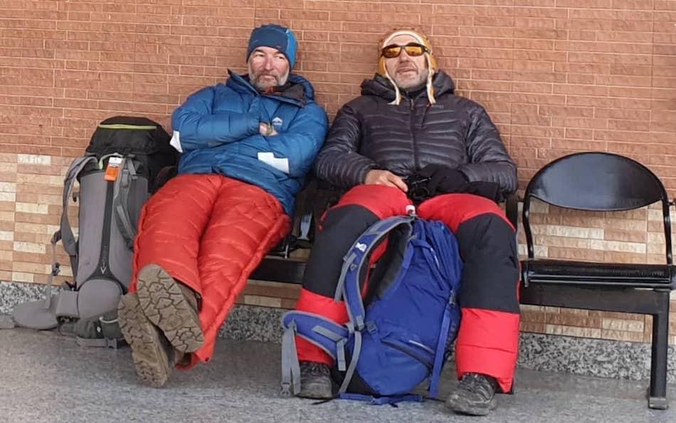 Alex Goldfarb e Zoltan Szlanko