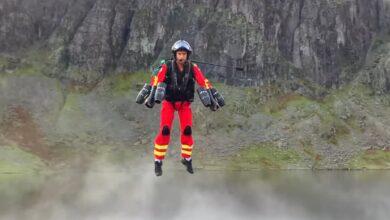 Photo of Futuro nei soccorsi in montagna? In Inghilterra si sperimenta nuovo jetpack