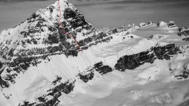 Photo of Monte Forbes, Quentin Roberts e Alik Berg nuova via su inviolata parete est