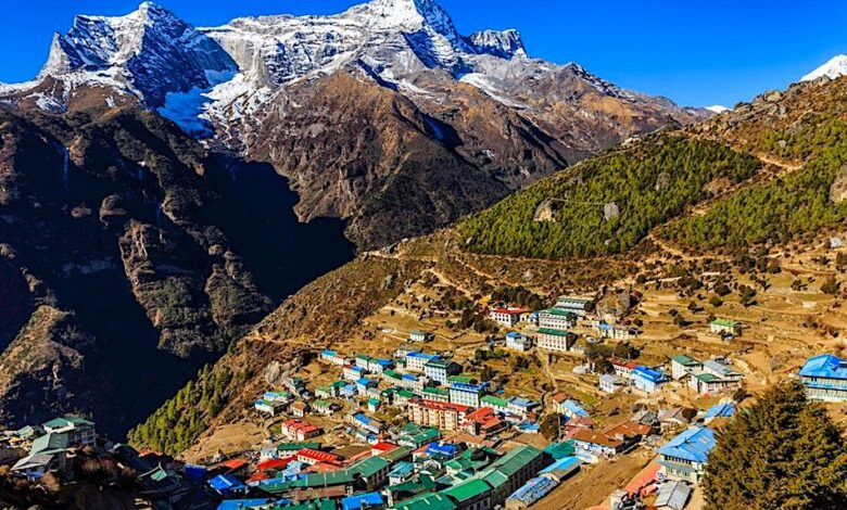 namche bazaar everest