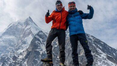 Tenji Sherpa e Vinayak Jay Malla