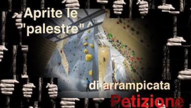 petizione palestra arrampicata