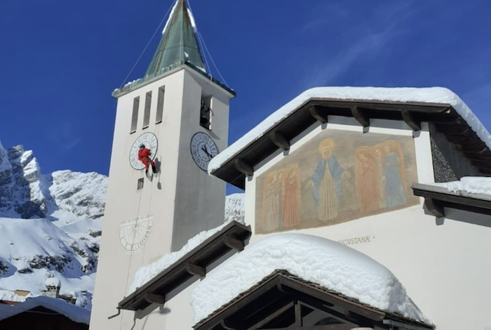 Cervinia don Paolo Papone