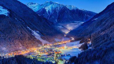 montagna valle aurina