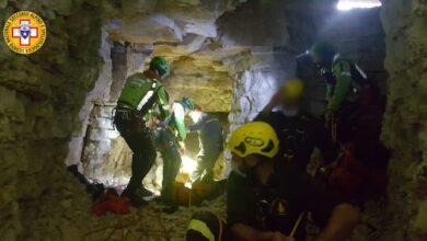 Soccorso grotta