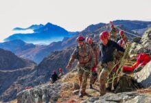 Soccorso e truppe alpine