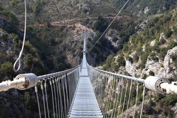 Ponte tibetano castelsaraceno