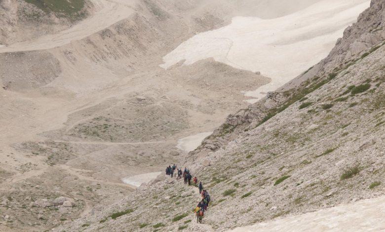 Carovana dei ghiacciai