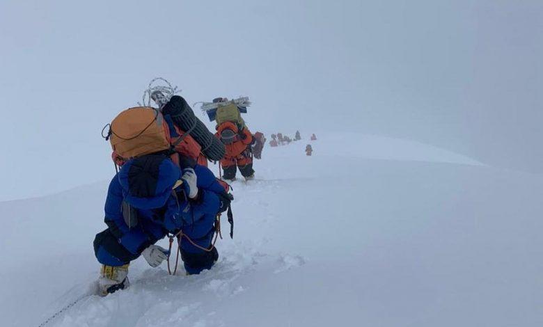 alpinisti dhaulagiri